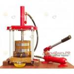 Деревянный пресс для масла, мёда и сока!